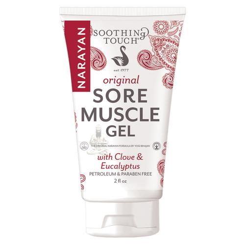 Soothing Touch Sore Muscle Gel, Regular Strength, 2oz Tube, W67367NRG, Acupuncture accessories