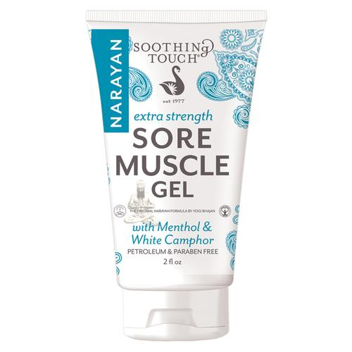 Soothing Touch Sore Muscle Gel,Extra Strength, 2oz Tube, W67367NXG, Acupuncture accessories