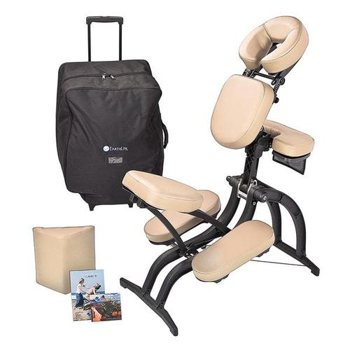 Earthlite avila ii portable massage chair massage chairs - Portable reflexology chair ...