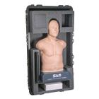 SAM Student Auscultation Manikin Storage/Carry Case w/ wheels and handle, 1020109, Options