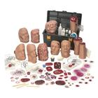 Moulage Training Kit with wounds associated with Weapons of Mass Destruction or Chemical-Biological-Radiological-Nuclear-Explosive attacks, 1021949, Advanced Trauma Life Support (ATLS)