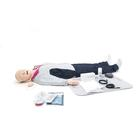Resusci Anne QCPR AED Airway Full Body in Trolley Case, 3011662, BLS Adult