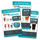 """You Call The Shots"" 3 Poster Pack, 3011775, Drug and Alcohol Education"