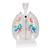 CT Bronchial Tree Model with Larynx & Transparent Lungs - 3B Smart Anatomy, 1000275 [G23/1], Lung Models (Small)