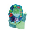 Plant cell model, magnified 500,000-1,000,000 times,R05