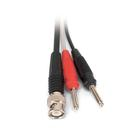 HF Patch Cord, BNC/4 mm Plug, 1002748 [U11257], Experiment Leads and Cables