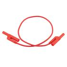 Safety Patch Cord 2.5mm/50cm Red,U13711