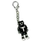 U49275BK: Latch Robot Key Chain, Black