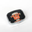 Robot Pillbox-Black,U49276B