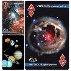 Astronomy Playing Cards, double deck,U49750A