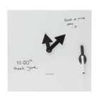 Pop Quiz Clock, Whiteboard, U49789W, Clocks and Watches