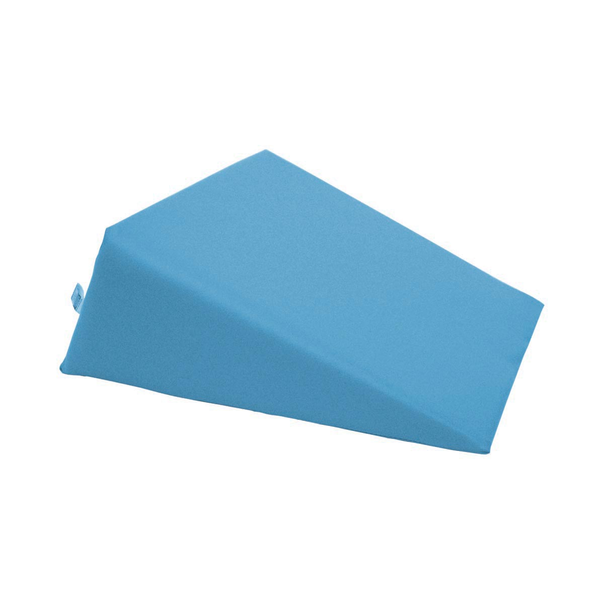 small foam wedge pillow light blue