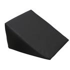 Large Foam Wedge Pillow - Black, 1008851 [W15099B], Bolsters and Wedges