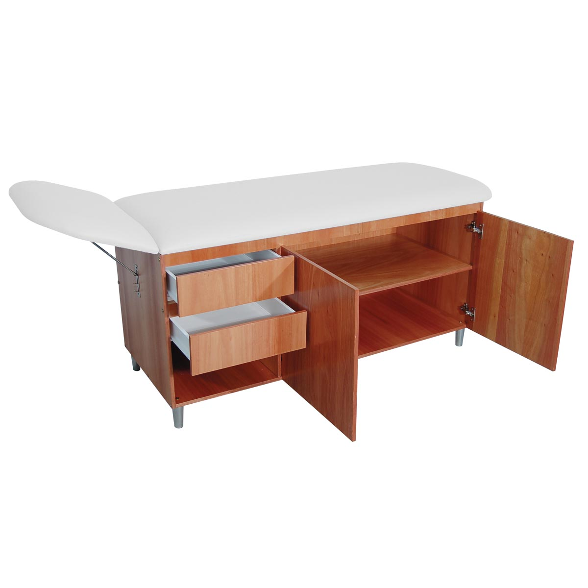 Classic straight line table with drawers treatment tables for Html table lines