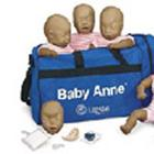 CPR Baby Anne, 4-Pack, Dark Skin,W19544