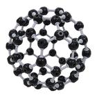 Buckminsterfullerene C60 Molecular Model,W19708