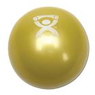 Cando Plyometric Weighted Ball, yellow, 2.2 lbs | Alternative to dumbbells, 1008993 [W40121], Weights