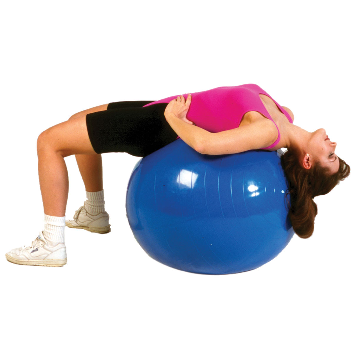 Cando Inflatable Donut Ball 33.5 Blue