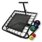 Adjustable Rectangular Rebounder with Medicine Ball Set, W40185, Trampolines and Rebounders