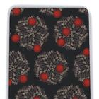 Silk Necktie - West Nile - Red,W41004