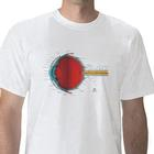 Anatomical T-Shirt Eye, XL, 1005507 [W41015], Anatomical T-Shirts