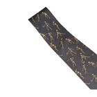 Skeletons Playing Sports Necktie, Grey - Silk,W41062