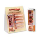 Tainted Blood: Smokers' Blood Revealed™ Display, 3004712 [W43177], Tobacco Education