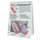 Cholesterol Flip Chart, 1018306 [W43208], Heart Health and Fitness Education