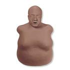 Life/form® Obese Fred Manikin - Darkly Pigmented, 3004308 [W44233D], BLS Adult