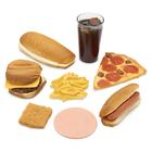 Fast Food Nutrition Kit, 3004457 [W44752], Food Replicas