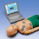 Child Interactive PALS Manikin with Laptop,W45143