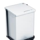 Step-On Can 32qt. White, W46260, Waste Receptacles