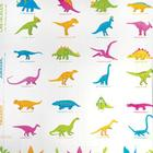 Dinosaur Shower Curtain,W49395D