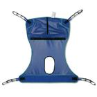 Mesh Full Body Sling with Commode Opening, Medium,W49831M