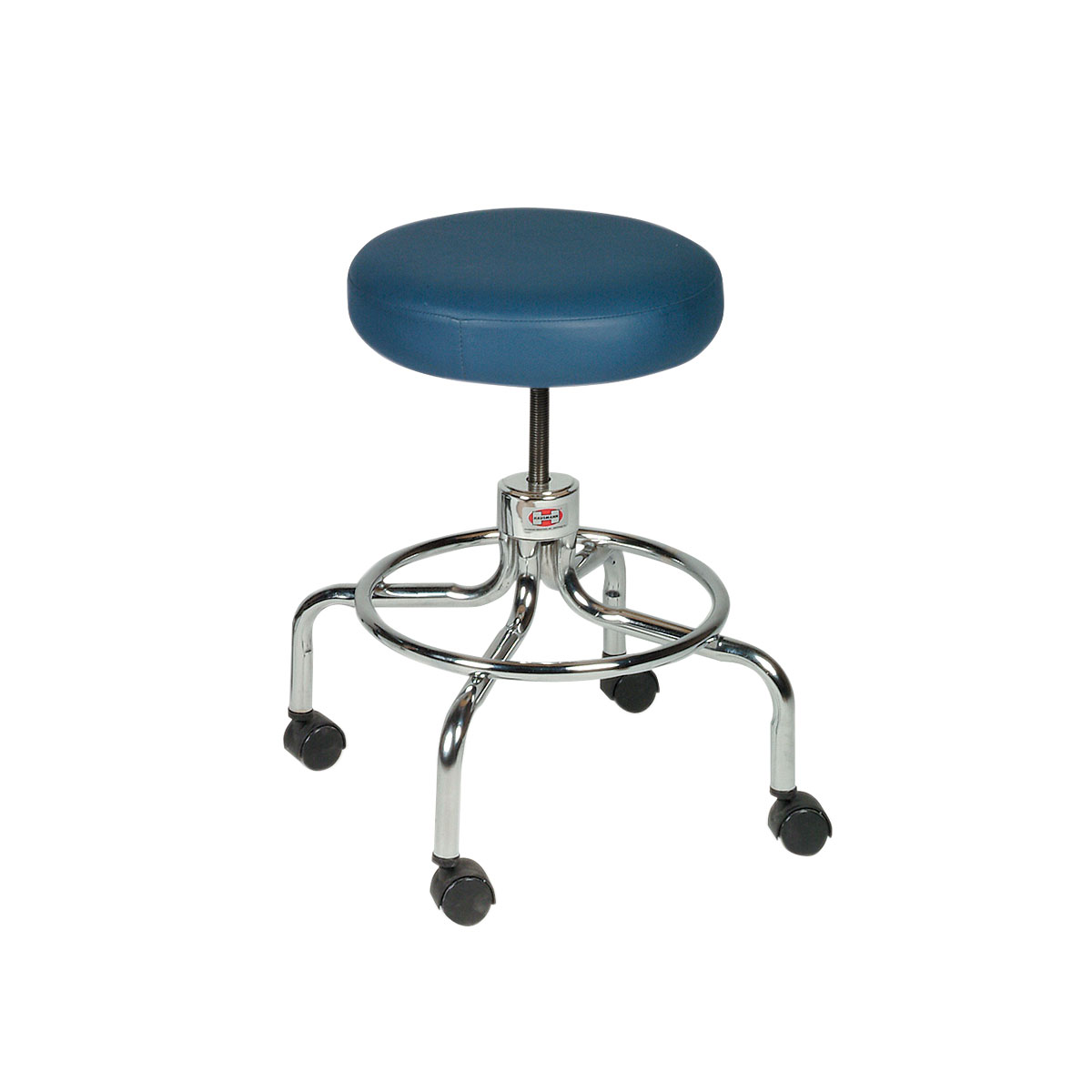 Revolving Stool On Chrome Base W50560 Hausmann 2116