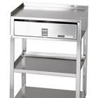 MB-TD Stainless Steel Cart with Drawer, W50660, Acupuncture Carts