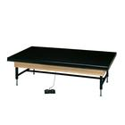 Hi-Lo Electric Mat Platform 6 x 8ft BLACK, W50776BK, Hi-Lo Mat Platform Tables