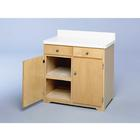 Double Wide Storage Cabinet,W50852