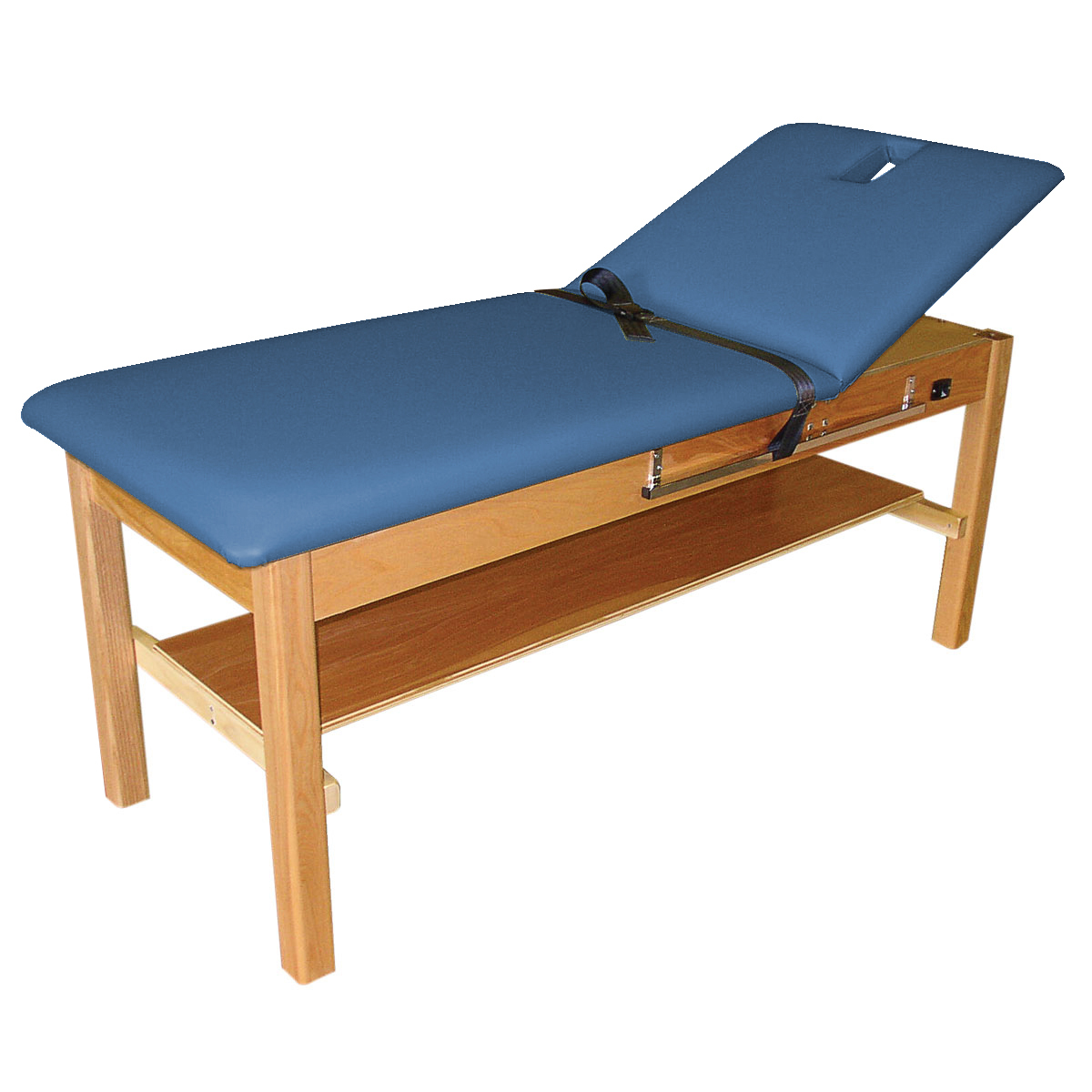 Back extension treatment table space blue w50856sb for Html table spacing