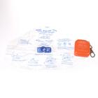 ADSAFE™ Plus CPR Face Shield - Orange,W51584OR