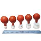 Glass Cupping Set with Rubber Bulbs,W53126GR