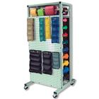 Double-Sided Mobile Combo Rack,W54001