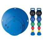 CanDo® MVP 3 board circ set, with 10 Balls and 2 racks, 3005275 [W54596], Balance and Stabilisation
