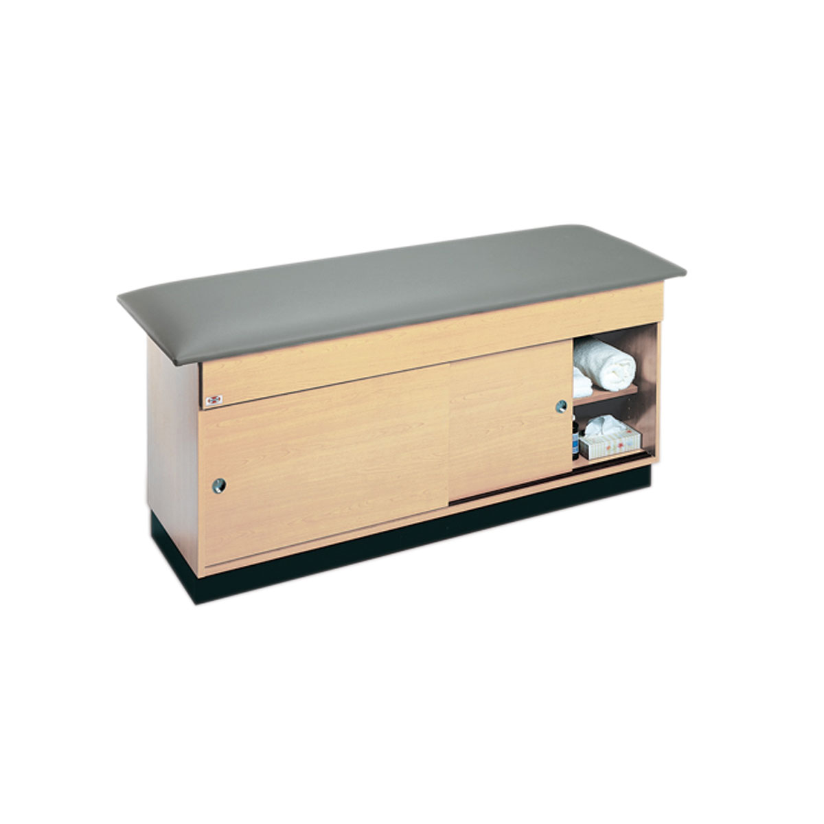 Hausmann Ind Cabinet Treatment Table With Storage