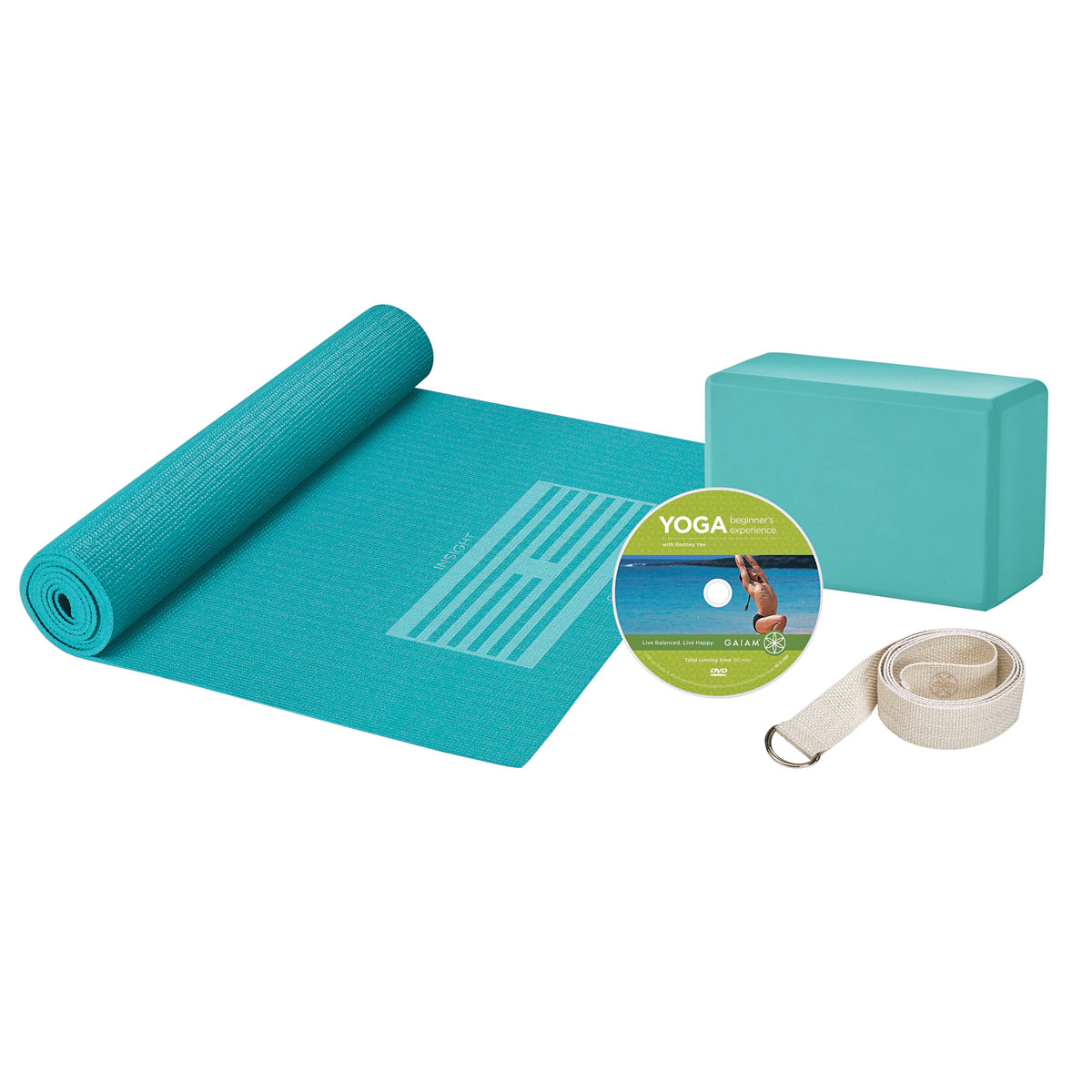 Deluxe Yoga Kit - W55990 - Gaiam - 05-53724 - Yoga