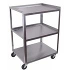 3 Shelf Stainless Steel Utility Cart, W56105, Acupuncture Carts