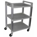 Three Shelf Poly Cart,W56110