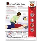 Sudden Cardiac Arrest Chart - Laminated,W59501