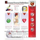 How to Use an AED Chart - Laminated,W59504