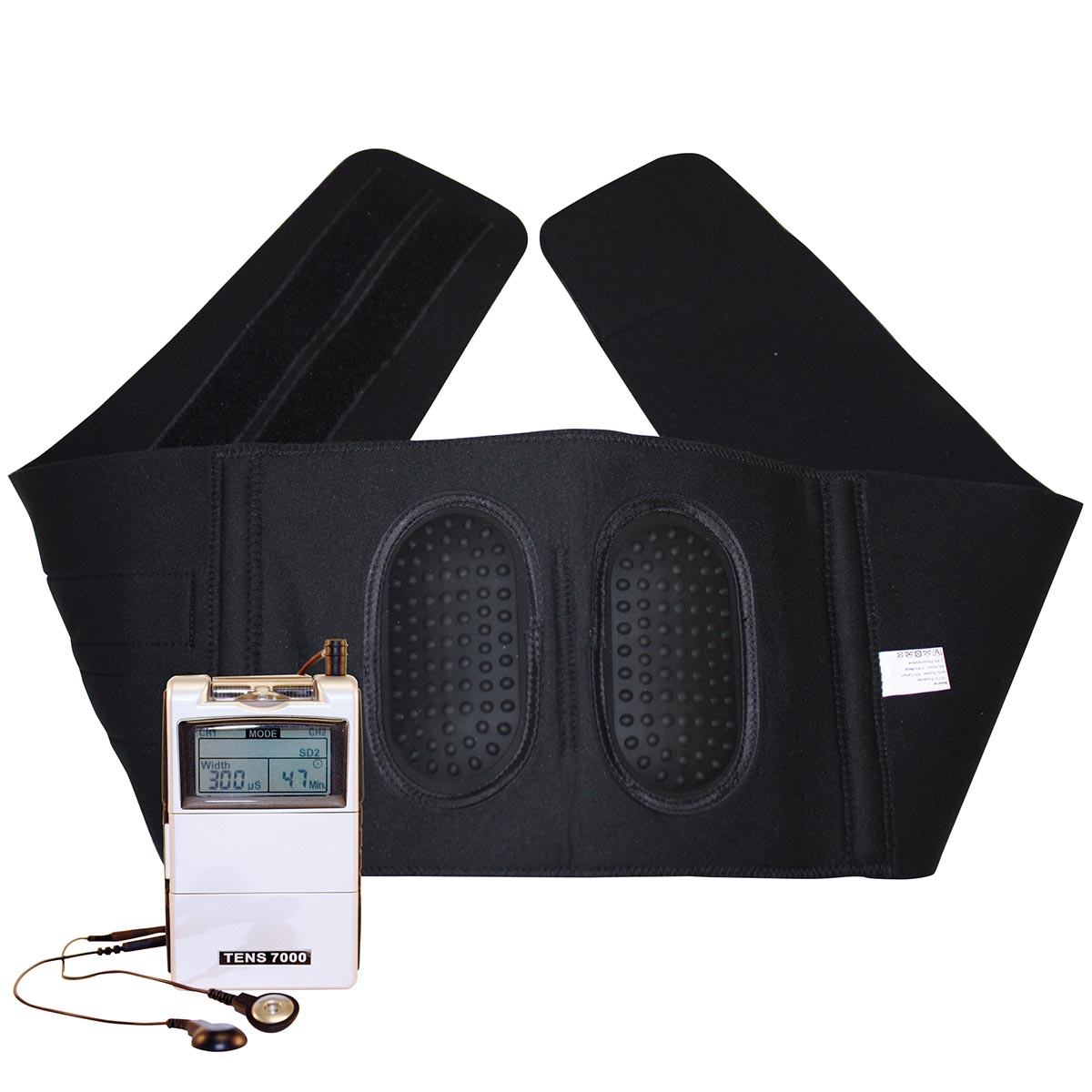 how to use a tens unit for lower back pain